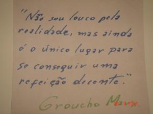 Aforisma Groucho Marx