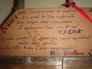 Aforismas T. S. Elliot e M. Quintana