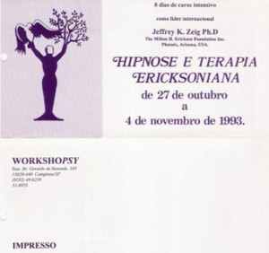 Flyer do Evento Zeig 1993