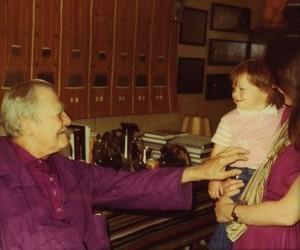 Erickson and child