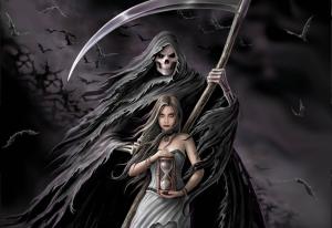 Morte e mulher