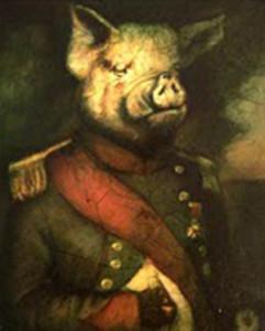 G Orwell Pig