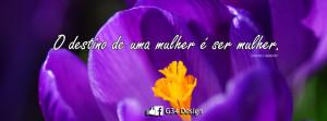 Capa para Facebook Mensagem de Reflexão - Clarice Lispector (1)