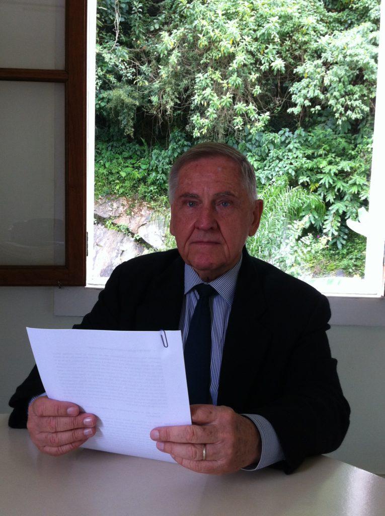 O amigo Helmuth R. Krüger